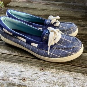 Ked's Denim Boat Shoes size 6.5
